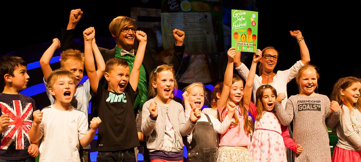 Grüne Soße Festival macht Schule - der Nachwuchswettbewerb 2019